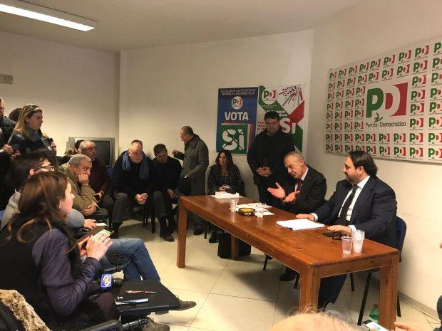 Incontro PD presso la sede provinciale a Benevento (foto di archivio)