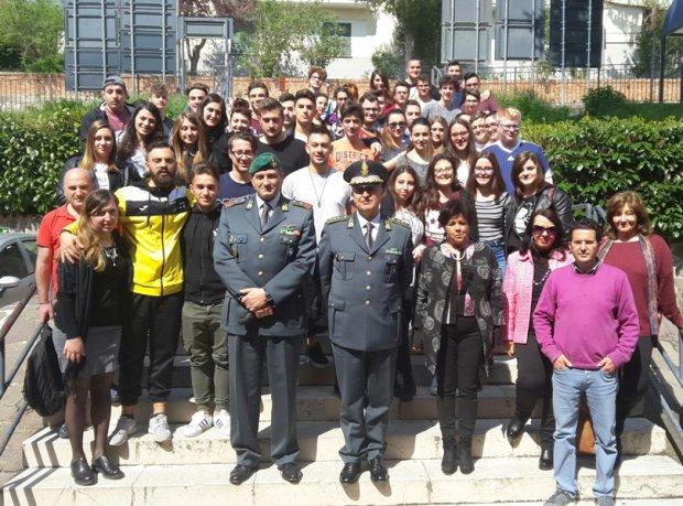 Incontro studenti e GdF
