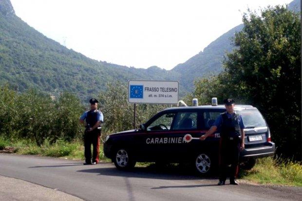 Pattuglia dei Carabinieri di Frasso Telesino