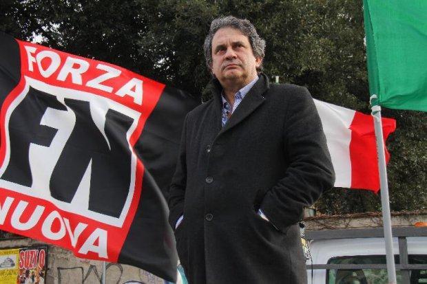 Roberto Fiore, foro: nuovasocieta.it