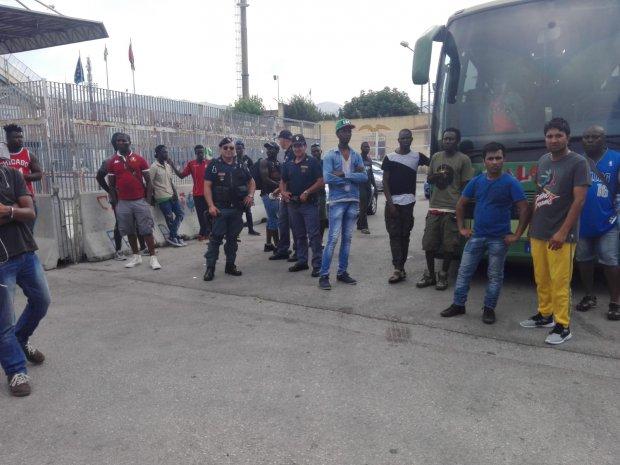 Migranti Sgombero