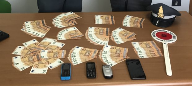 Banconote false sequestrate dalla Guardia di Finanza