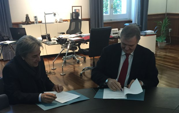 Firma accordo Unisannio e Comune di Tufo