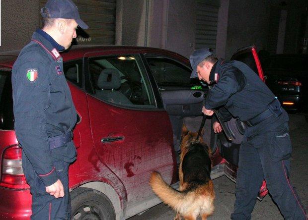 Carabinieri Montesarchio, operazione antidroga