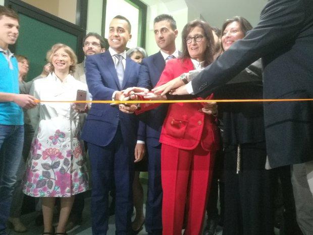 Inaugurazione laboratori Rampone