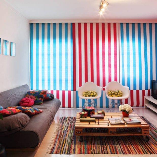Idee di casa. Apartamento Praia Santa Cruz. Progetto di Tiago Patricio