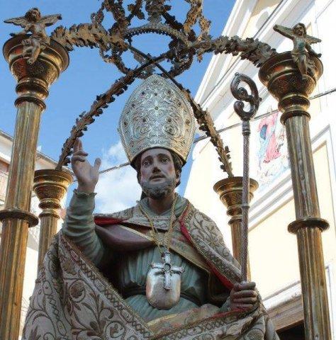 San Leucio, patrono di San Salvatore Telesino