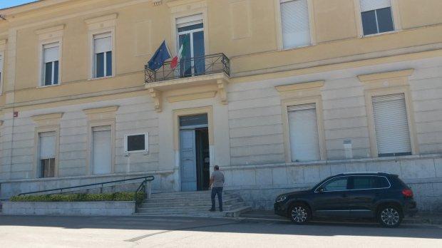 La sede del Comune di San Nicola Manfredi