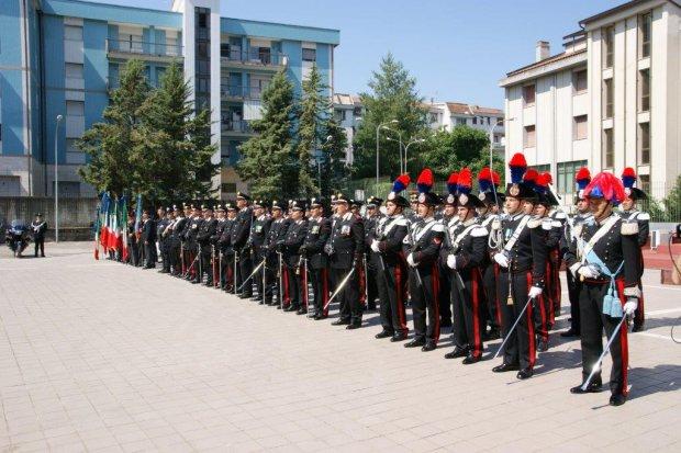 Calata Anselmi ospita oggi la festa dei carabinieri
