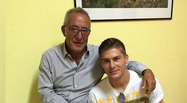 Vigorito con Bagadur foto: Benevento Calcio Spa