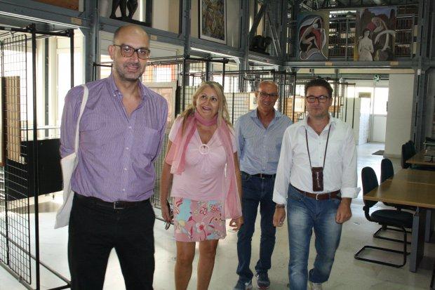 Sopralluogo dei funzionari del Ministero dei Beni Culturali