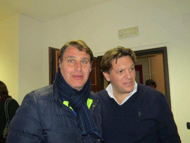 Cosimo Lepore e Raffaele Del Vecchio