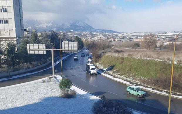 Neve a Benevento (gennaio 2019)
