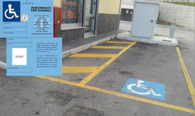 Cambiano i contrassegni per i parcheggi riservati ai disabili