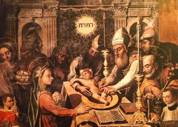 San Lorenzo Maggiore, il quadro della circoncisione festeggia 400 anni