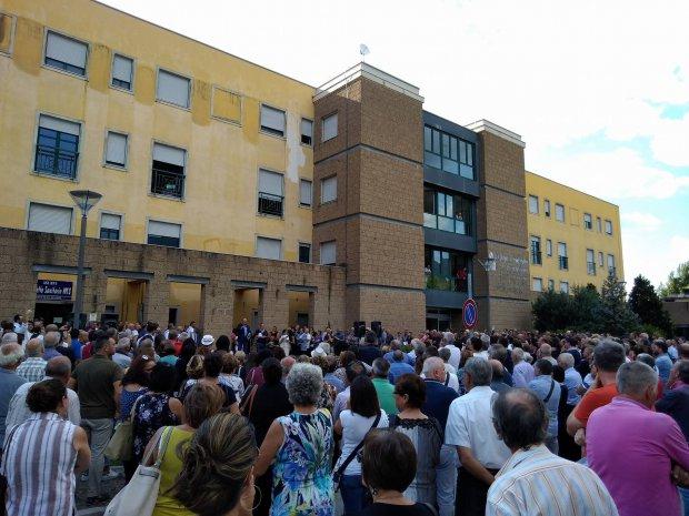 I cittadini di S. Agata dei Goti protestano per la chiusura del Pronto Soccorso