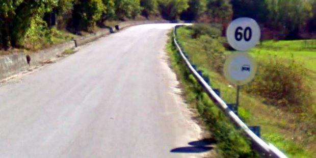 Benevento. Strada provinciale SP 60 (limite di velocita)