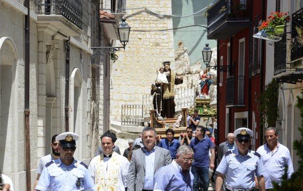 Santa Croce del Sannio. Celebrazioni in onore di S. Antonio da Padova