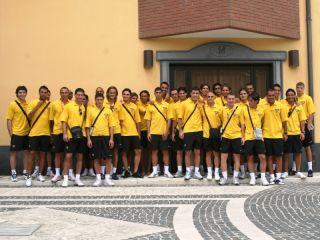 La rosa del Benevento 2008/2009 partita per il ritiro