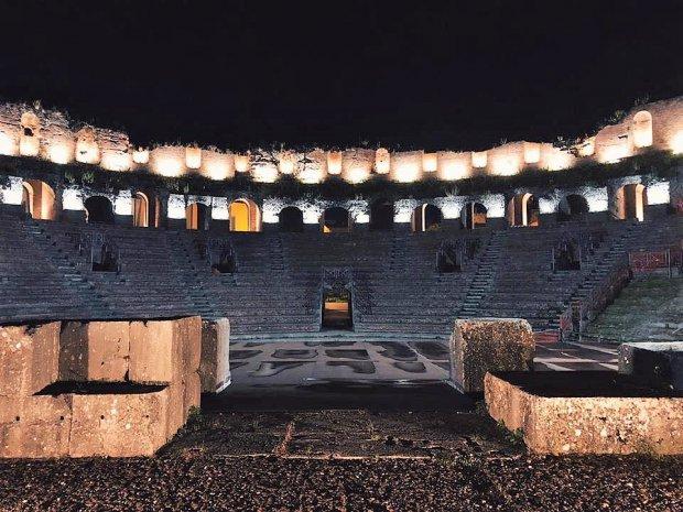 Teatro Romano (© MMXVIII foto Seneca dot com // Internet & Multimedia)