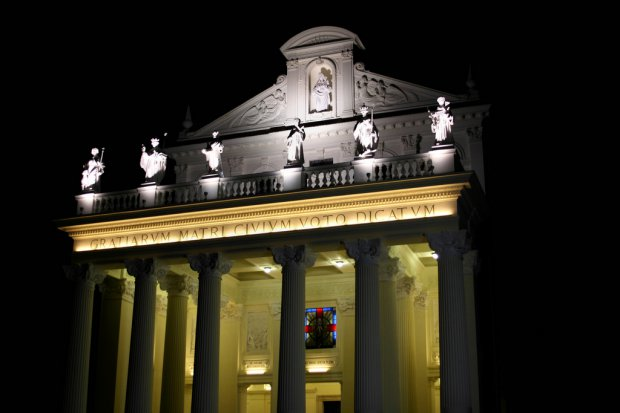 Benevento. Basilica Madonna delle Grazie