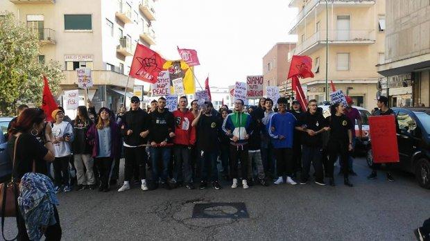 Protesta Studenti 13 ottobre