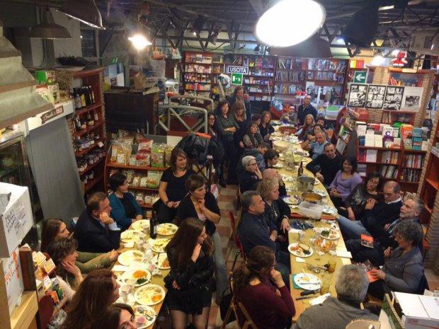Libreria Alisei Masone, Cenabaratto