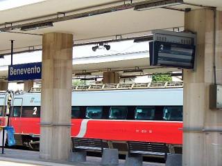 Benevento. Stazione ferroviaria