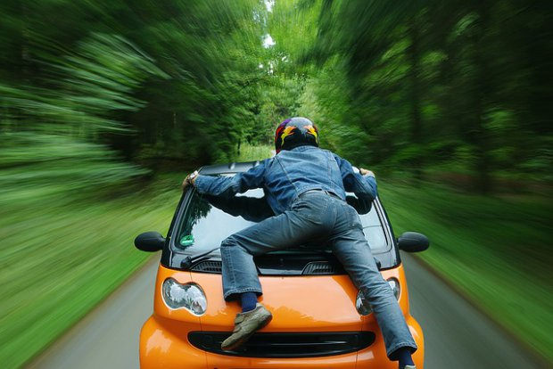 Auto, guida sicura
