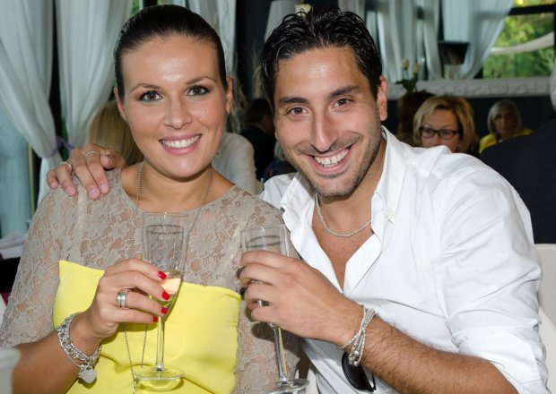 Gli sposi  Antonio D'Ambrosio e Teresa Iannace