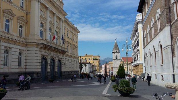 Benevento. Corso Garibaldi