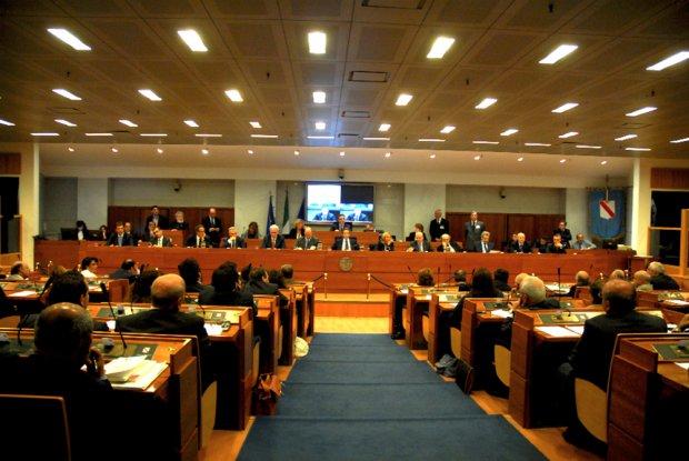 Napoli. Consiglio Regionale della Campania (foto di www.quasimezzogiorno.org)