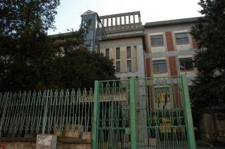 L'ingresso della scuola media G. Bosco Lucarelli