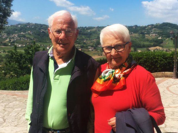 Franco Falco e Antonietta Catillo