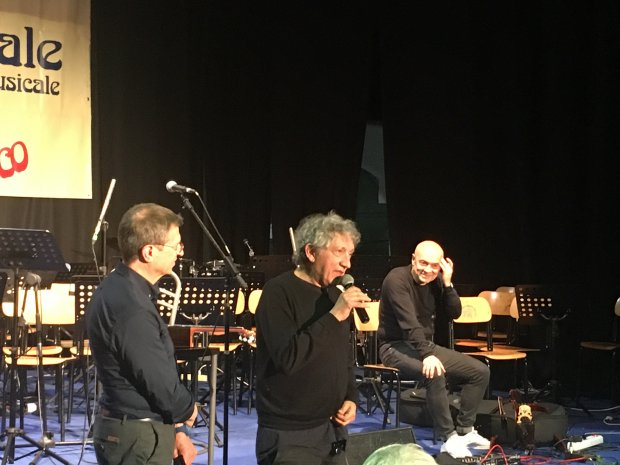 Eugenio Bennato alla XX Rassegna Musicale delle Scuole ad Indirizzo Musicale - I.C. San Marco dei Cavoti
