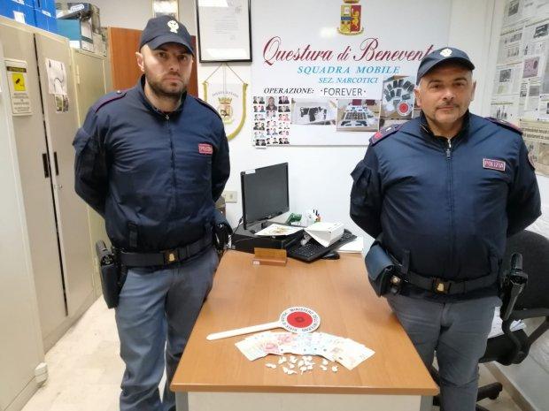 Cocaina sequestrata dalla Polizia