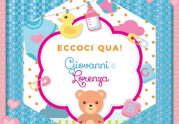 Nascita Giovanni e Lorenza