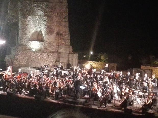 Concerto Teatro Romano diretto dal maestro Piovani
