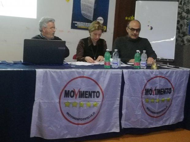 M5S. Marianna Farese e Nicola Sguera (marzo 2017)