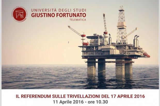 Benevento Referendum Sulle Trivellazioni Incontro Dibattito All