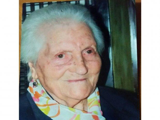Teresina Sebastianelli, 100 anni il 17 ottobre 2015