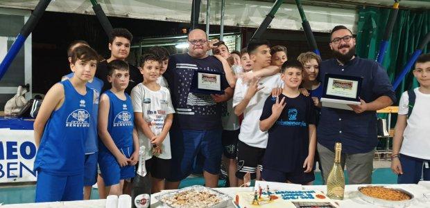 Festa di fine anno sportivo per il G. S. Meomartini