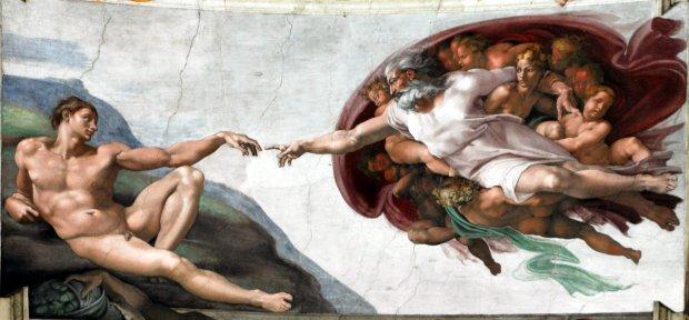 La Creazione di Michelangelo Buonarroti - Foto (cc) wikimedia.org