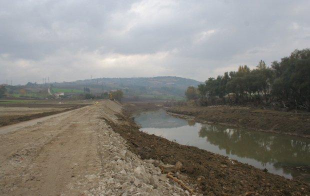 La zona di Ponte Valentino