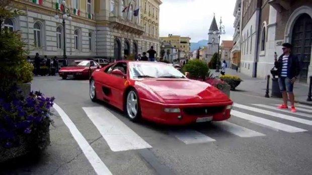 Raduno Ferrari - Benevento