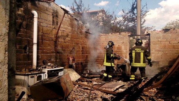 Incendio Castelpagano