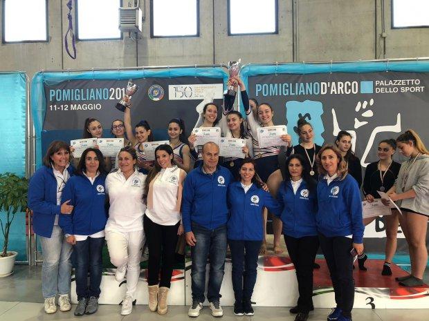 Ginnastica. Benevento vince I campionati studenteschi femminili con il Liceo Rummo