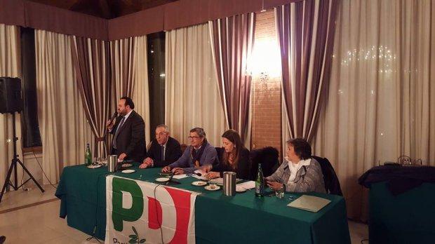 Assemblea PD (foto di archivio)