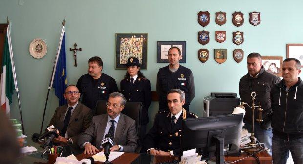 Arresto Paolo Messina jr, conferenza stampa in Procura