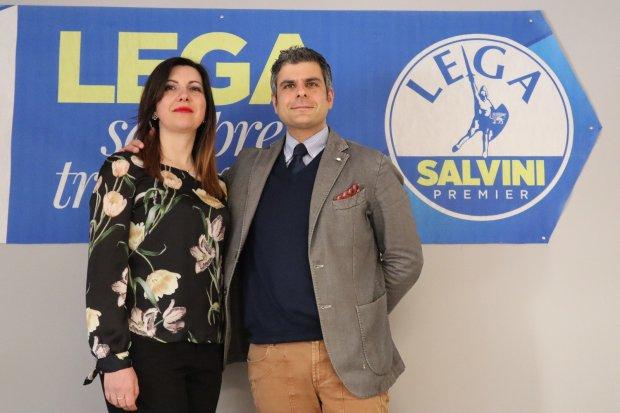 Nadia Sgro e Luca Ricciardi